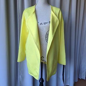 J.O.A. Jacket Yellow Size Medium